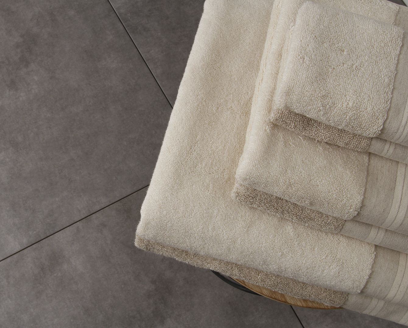 Cotton-Linen Natura Bath Towel
