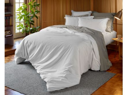 200TC Stonewashed Percale Oxford Pillowcase