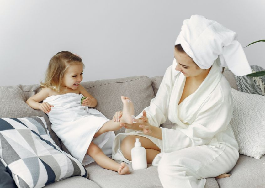 How to create your own home spa