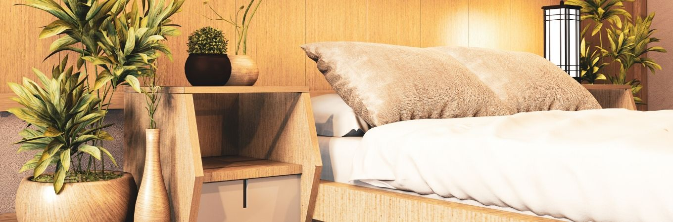 How to make your bedroom look and feel Japanese