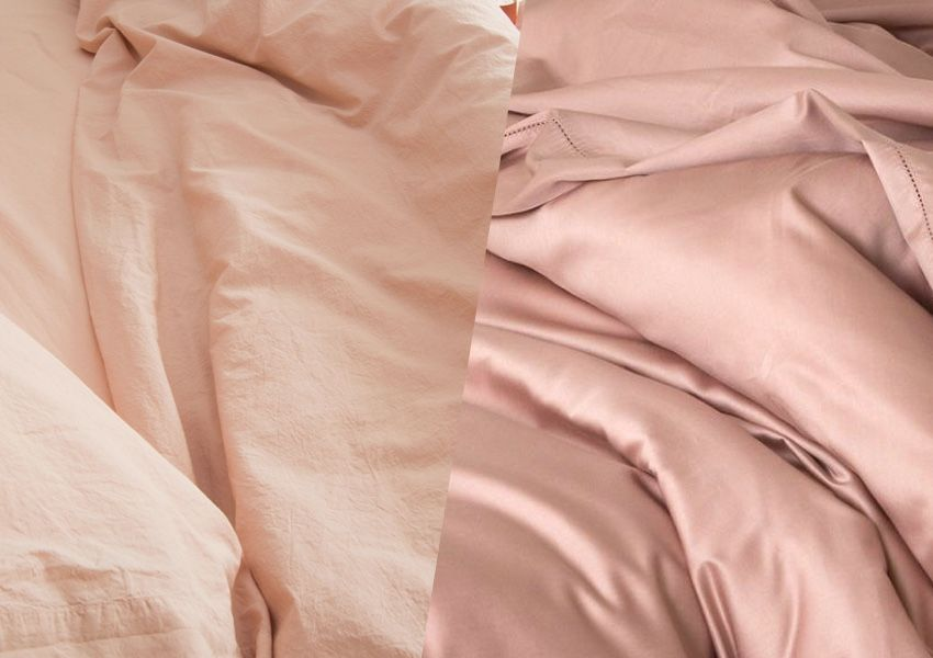 Should you choose percale or sateen?